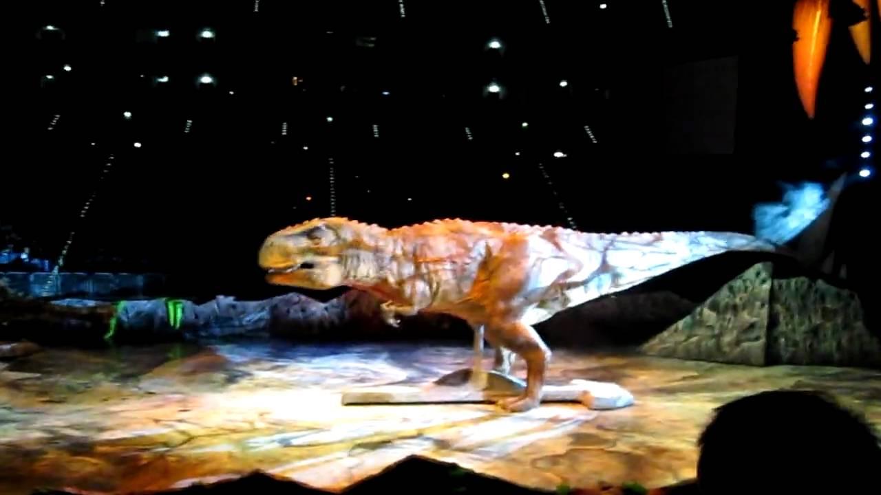 sap arena dinosaurier im reich der giganten
