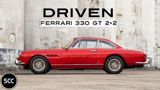 FERRARI 330 GT 2+2 1967 - Test drive in top gear - V12 Engine sound | SCC TV