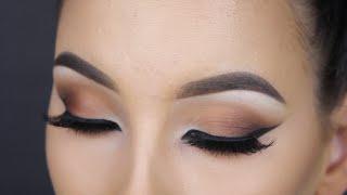 Flawless makeup / Warm brown cateyes  - MAKEUPBYAN