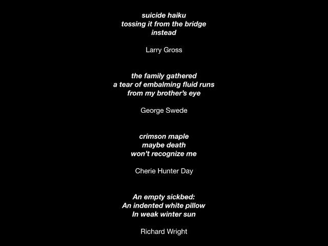 Write Your Own Death Haiku