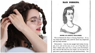 I Followed An 1867 Hair Tutorial