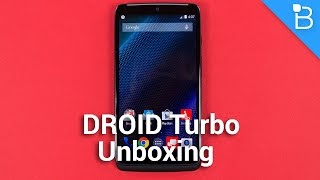 DROID Turbo Unboxing
