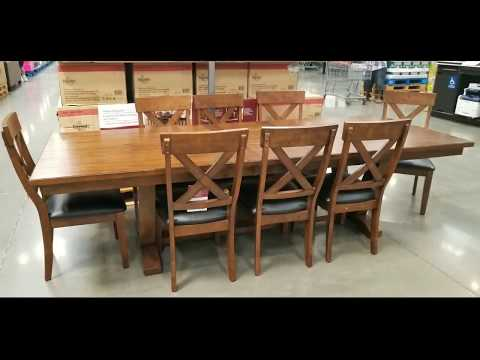 Costco! Bayside Furnishings 9 PC Dining Set! $699!!!