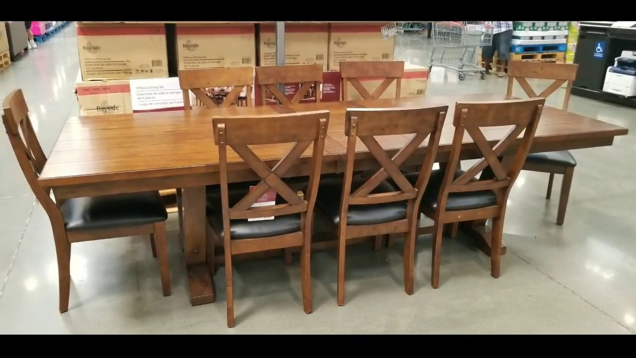 Costco Tables And Chairs Costco Bayside Furnishings 9 Pc Dining Set 699
