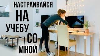 Домашний влог - подготовка к 🇺🇸 университету (байндер, учебник, ежедневник)!