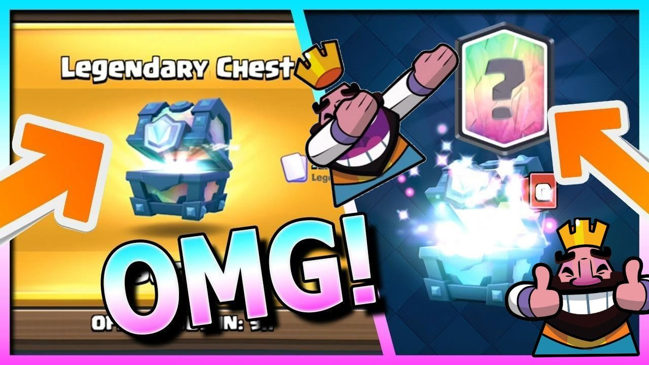 how to get legendary cards in clash royale free