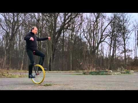 Einrad, Kreise fahren am 29.12.2015
