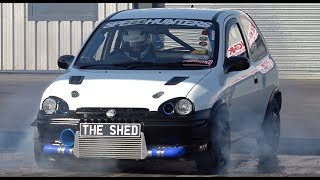 442bhp Vauxhall Corsa - THE SHED - 10.72 @ 128mph
