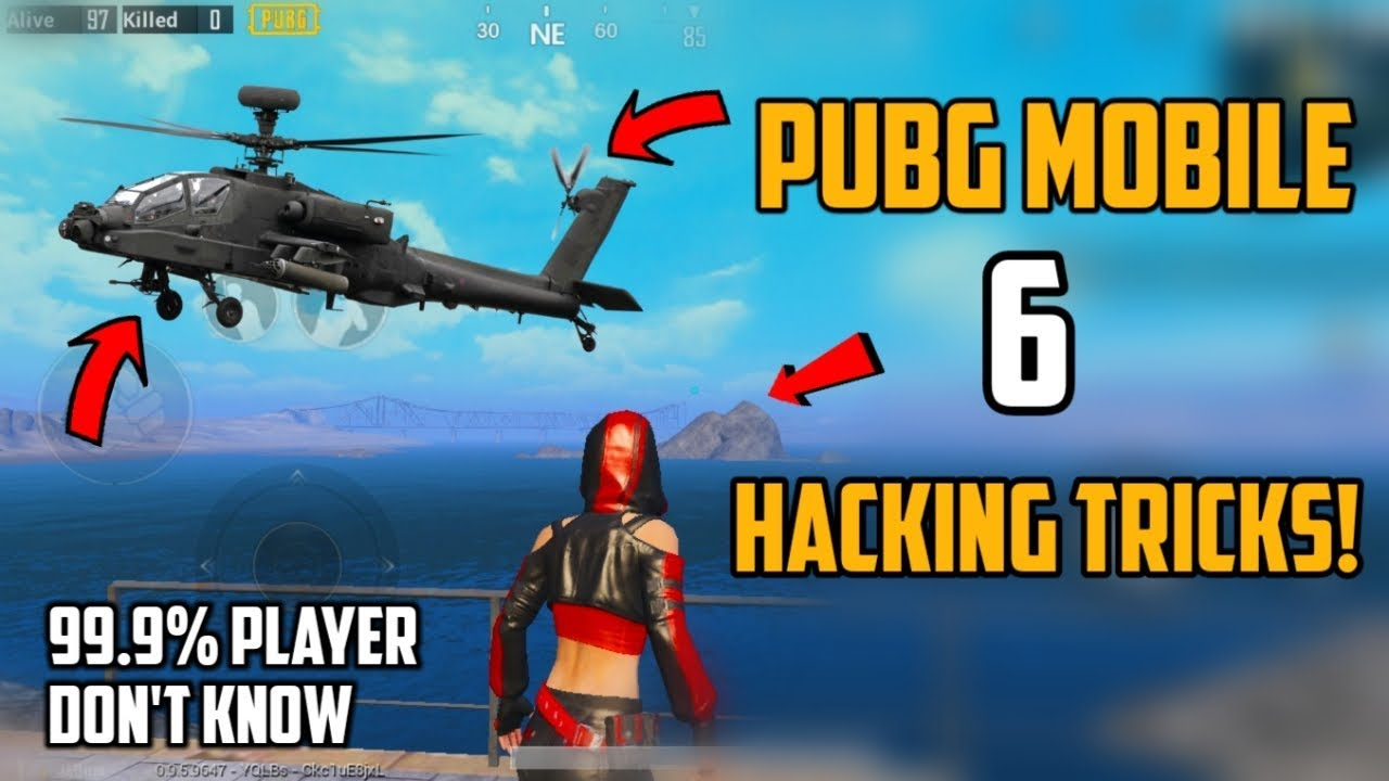 PUBG Mobile New 6 Hacking Tips and tricks | 99.9% Player Don't Know!