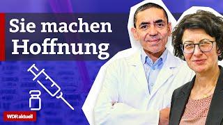 Das sind Uğur Şahin und Özlem Türeci - die beiden hinter dem Corona-Impfstoff