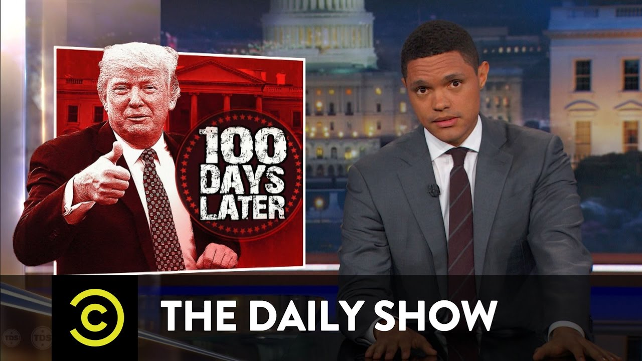 Image result for trevor noah first hundred days