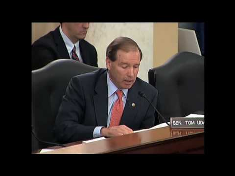 Tom Udall Questions Walter Mondale on Senate Obstruction