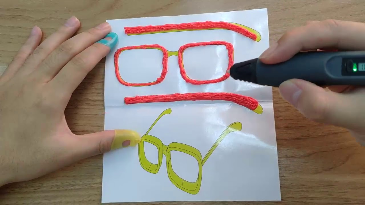 TECBOSS 3D PEN User guide(how to use 3d printer pen)