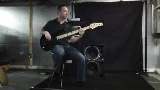 Chris Cole 2x12 bass cab slant Eminence Deltalite 2512 II