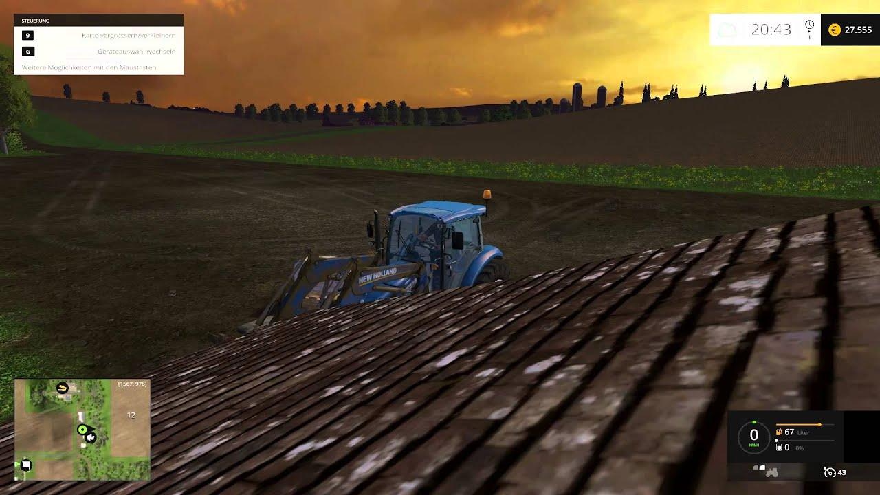 Manni und sein Kärcher- Landwirtschafts Simulator 2015 Mission America #014