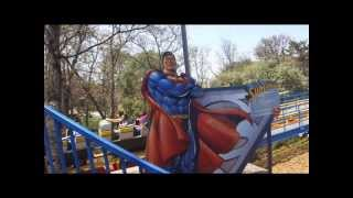 Six Flags México: Superman El Ultimo Escape (Cancion De La Fila)