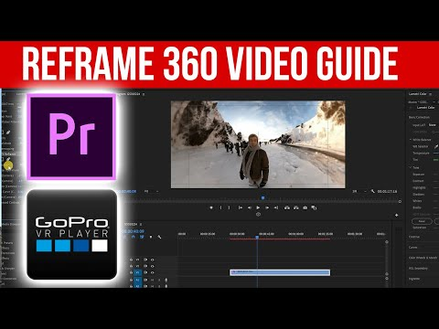 How To Reframe 360 Video In Premiere Pro (Easy Guide)