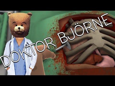 Doktor Björne fixar Bobs Hjärta...typ | Surgeon Simulator