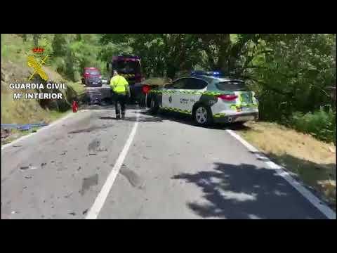 Muere el piloto pontevedrés Víctor Magariños en un accidente en Cerdedo-Cotobade