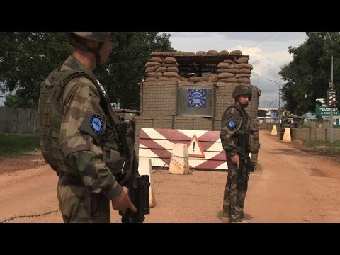 EU force in C.Africa starts operation at Bangui airport