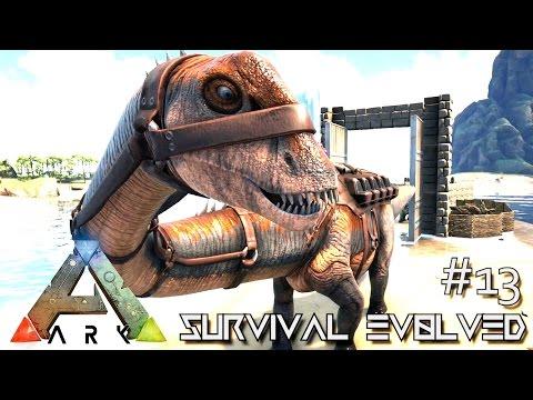 ARK: Survival Evolved - NEW DINO DIPLODOCUS TAMING UPDATE - SEASON 4 [S4 E13] (TheCenter Gameplay)