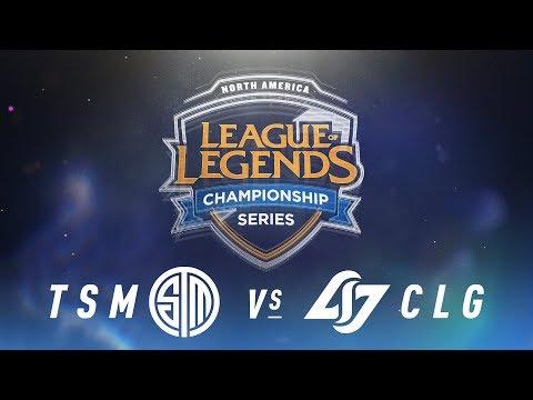 TSM vs. CLG - Week 4 Day 2 | NA LCS Spring Split | TSM vs. Counter Logic Gaming (2018)