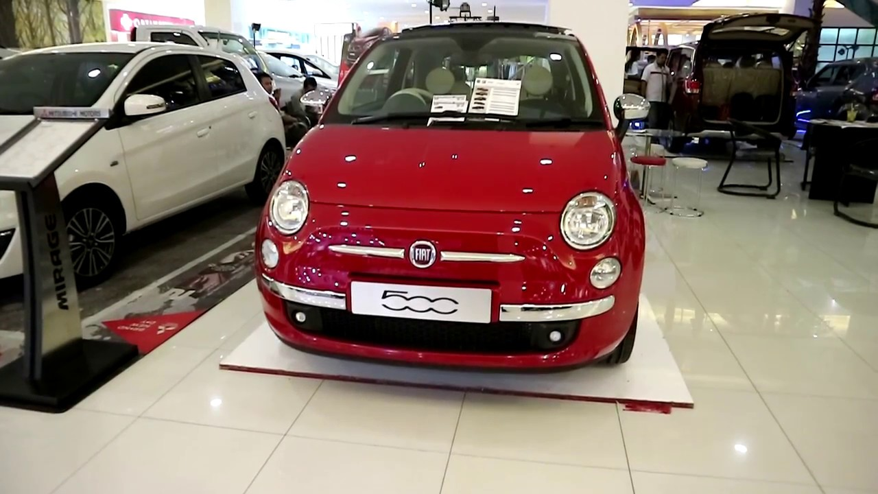 FIAT 500 Lounge 2017 ,Exterior and Interior - YouTube