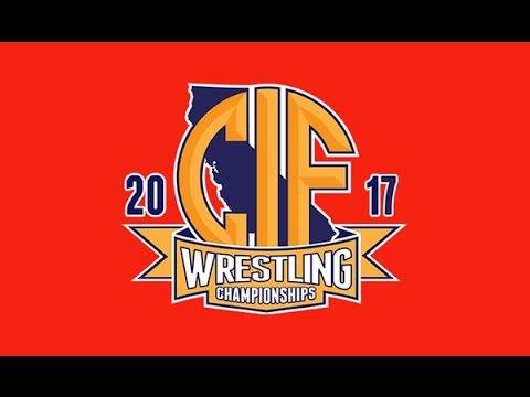 2017 CIF Boys Wrestling FINALS - 113 lbs Jesse Vasquez vs Nicolas Aguilar