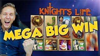 BIG WIN!!! Knights Life BIG WIN - Online Slots - free spins (gambling)