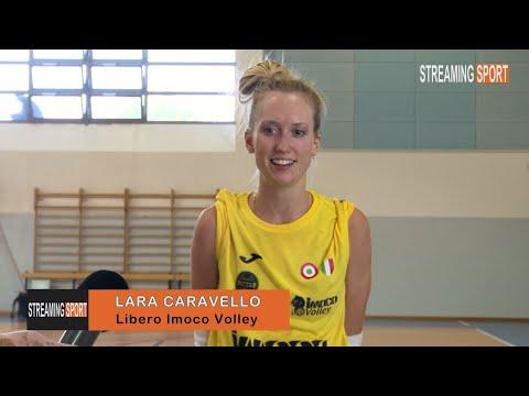 INTERVISTA CON  LARA CARAVELLO  -  IMOCO VOLLEY CONEGLIANO
