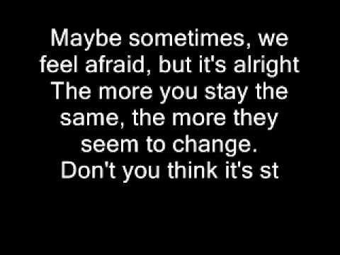 Put Your Records On By Corinne Bailey Rae (Lyrics on Screen) - YouTube
