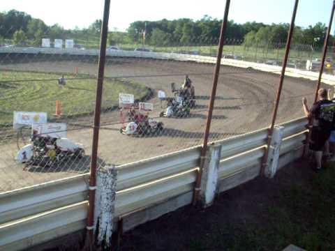 English Creek Speedway R-Box Heat 2 August 1, 2010