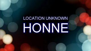 HONNE Location Unknown Brooklyn Session Audio Lyrics