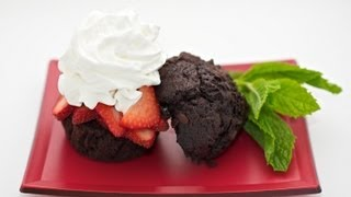 Florida Midnight Strawberry Shortcake