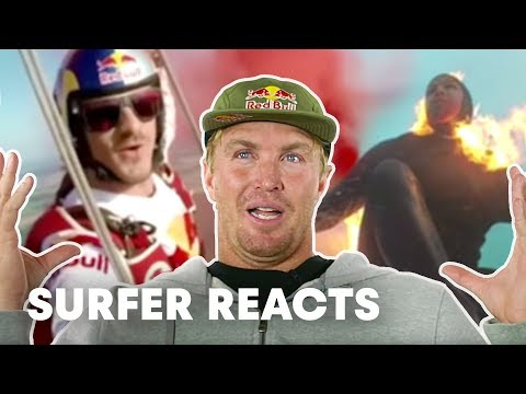 Surfer Jamie O'Brien Reacts To Top Red Bull Videos