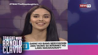 Tonight with Arnold Clavio: Love advice from Megan Young and Katrina Halili