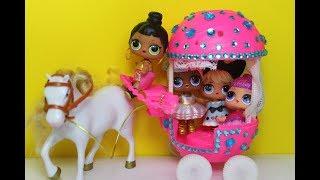 видео Дома, мебель, кареты, машины для кукол