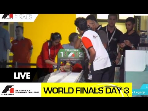 F1 in Schools World Finals 2014 - Day 3 Knock-out Competition