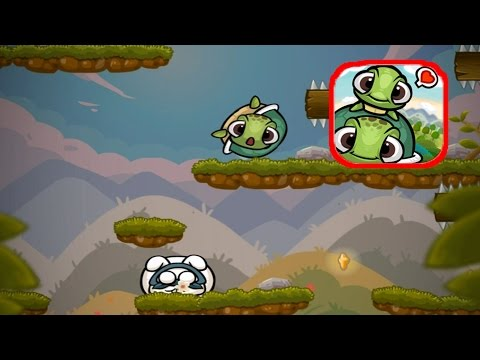 Roll Turtle: Gameplay World 1 Hills 15- 20 Boss Fight (iOS & Android By FU Chun-Wei)