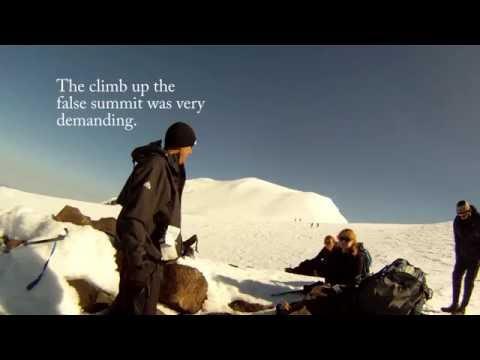 Climbing Mt. Adams July 2012