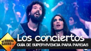 Cómo sobrevivir a los conciertos veraniegos en pareja, por Juan y Damiana  - El Hormiguero 3.0