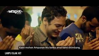 Para Jamaah Menangis Saat Imam Membaca Doa Qunut  Malam Terakhir Ramadhan Di Mesir