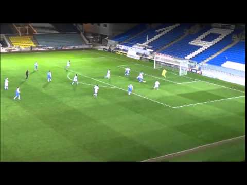 PETERBOROUGH UNITED v Notts County - FA Youth Cup (Jonny Edwards Goal)