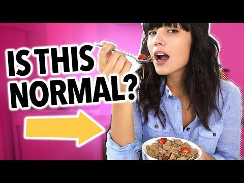 Do You Eat Normally?