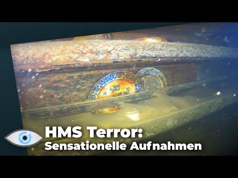 Wrack der HMS Terror: Spektakuläre Aufnahmen aus dem Inneren