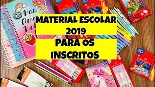 COMPRANDO MATERIAL ESCOLAR 2019  | NOVO ROSA .