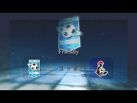 FC Cosmos 1 - 5   FK Vytis