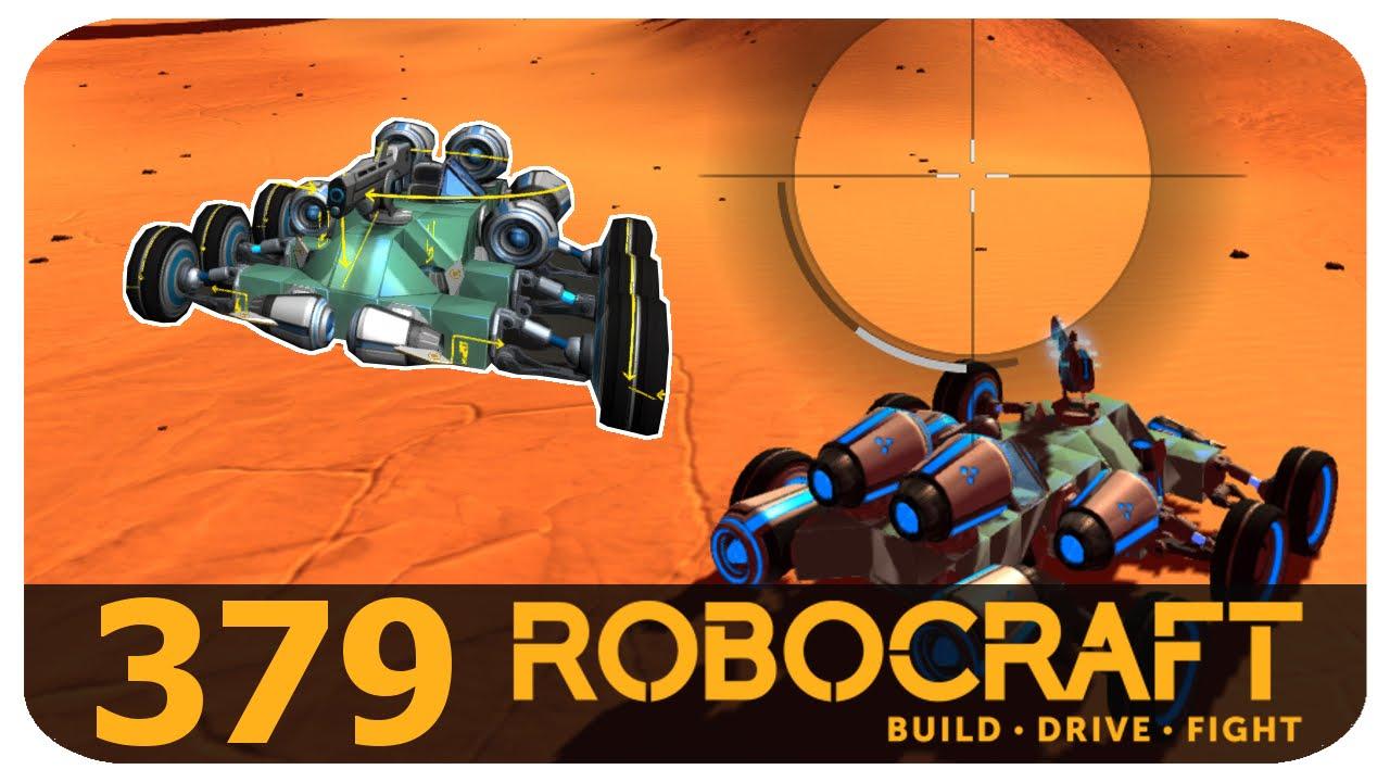 Robocraft Tier 4 Rail Sniper Buggy - YouTube