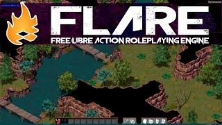 Two Open Source RPG Projects -- FLARE & Godot ARPG