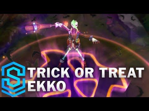 Trick or Treat Ekko Skin Spotlight - Pre-Release - League of Legends